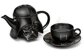 teapot set wars darth vader teapot set thinkgeek