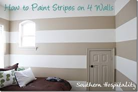 painting stripes on walls nursery ideas southern hospitality