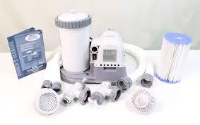 intex 2500 gph filter pump u0026 krystal clear saltwater pool