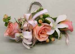 White Corsages For Prom Corsages And Boutonnieres