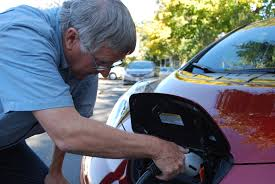 nissan leaf miles per charge sierra club installs first downtown boise electric car charging