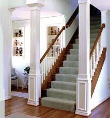 open staircase load bearing post google search for the home