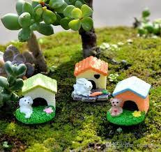 2018 garden miniature animal house bunny mini