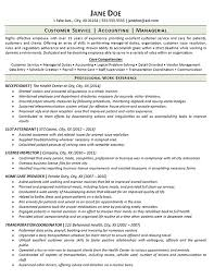 Fake Work Experience Resume Employment Gap Resume Example Receptionist Customer Service