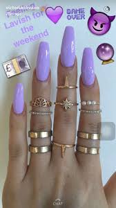best 25 purple acrylic nails ideas only on pinterest acrylic