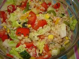 cuisiner concombre recette salade de blé au concombre et au poivron 750g