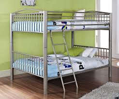 black ikayaa twin over full metal bunk bed frame black lovdock