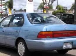 toyota corolla sedan 1993 1993 toyota corolla 4dr sedan le 4 spd auto sedan san diego ca