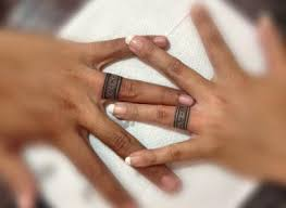 tattoos of wedding rings what are the best designs for a wedding ring tattoo blogs