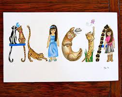 Wall Art For Kids Room by Cheetah Wall Art Etsy
