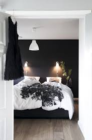 Chambre Mur Et Noir Un Mur Noir Pour Une Chambre Parentale Cossue Chambre
