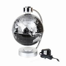 World Map Desk by 220v Desk Toy Educational Magnetic Levitation Floating Globe World