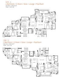 floor plans second floor sixth floor