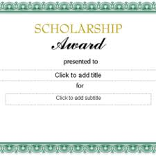 editable excellence award certificate template with golden border