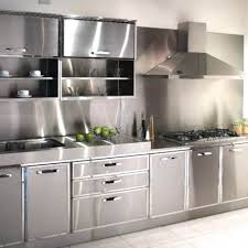 best stainless steel kitchen cabinets in india modular stainless steel kitchen cabinet
