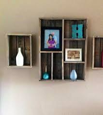 wooden wall shelves as a practical and decorative element of every