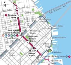 san francisco metro map pdf san francisco s central subway part i the roots of tunneling