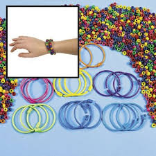 bracelet bead sets images Pony bead bracelet kit art craft supplies kids jpg