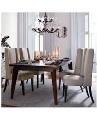 chocolate dining room table check out these deals on west elm angled leg expandable table