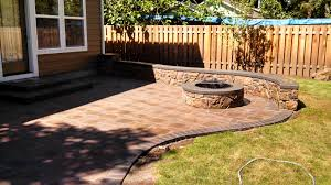 Small Paver Patio by Hardscape Brick Patios