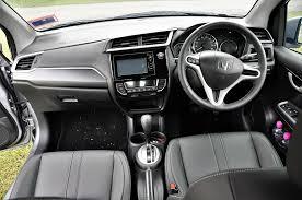 honda dashboard test drive review honda br v autoworld com my