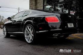 bentley continental rims bentley continental gt with 22in savini bm14 wheels bentley