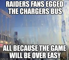Raiders Chargers Meme - 3 big moments from san diego chargers 31 28 win vs oakland
