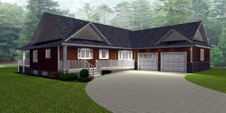 Contemporary Ranch Homes by 100 House Plans With Daylight Basements 100 House Plans