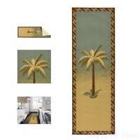 Palm Tree Runner Rug Ottomanson S Kitchen Tropical Palm Tree Design Bathroom Mat