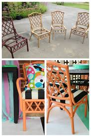 Wicker Patio Table And Chairs 12 Outdoor Furniture Makeovers Easier Than You Think