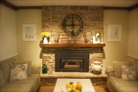 small modern decorating ideas for a brick fireplace mantel that