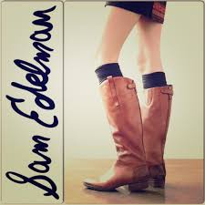 s extended calf boots sam edelman sam edleman leather wide calf boots from laron