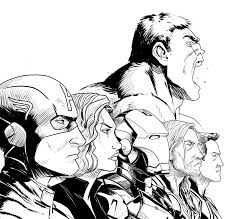 avengers 36 superheroes u2013 printable coloring pages