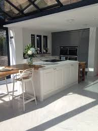 my finished kitchen in gullwing grey and linen sculptured matt