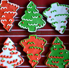 chocolate christmas tree sugar cookies a dash of megnut