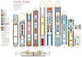 Cruise Ship Floor Plans by Deck Layout Pacific Dawn Aussie Cruising