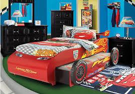 Lighting Mcqueen Bedroom Shop For A Disney Cars Lightning Mcqueen 7 Pc Bedroom At Rooms To