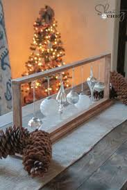 best 25 homemade christmas table decorations ideas on pinterest