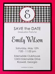 best save the dates save the date graduation cards 80 best of alabama