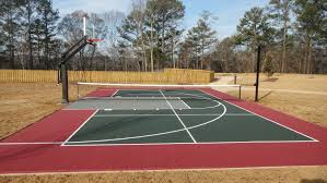 imposing design how much does a sport court cost best backyard