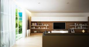 Interior Design Ideas For Tv Wall by Long Tv Wall Unit Interior Design Ideas