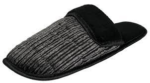 men s corduroy slip on backless house slippers w slight padded men 039 s corduroy slip on backless house