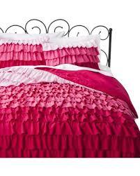 Purple Ruffle Comforter Don U0027t Miss This Deal On Xhilaration Ruffle Comforter Set Pink
