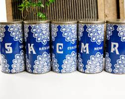 old canisters etsy
