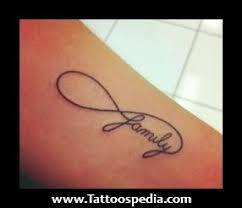 family infinity tattoos