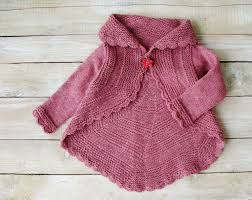 Little Girls Clothing Stores Little Girls Clothes Pink Pinwheel Cardigan Hand Knitted Toddler