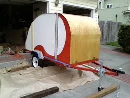 build your own rv with kits u0026 plans for teardrop trailers