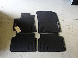 toyota camry oem floor mats oem 2010 2013 toyota corolla all weather floor mats ebay