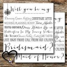 cards to ask bridesmaids will you be my bridesmaid cards how to ask by marrygrams on etsy