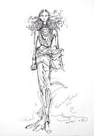 fashion illustration u2014 kristin camiel